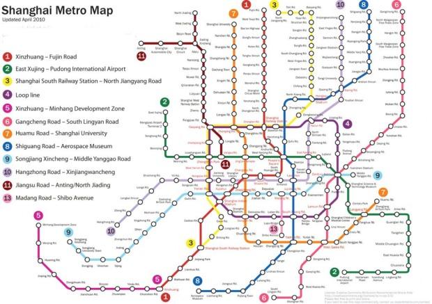 shanghai subway map